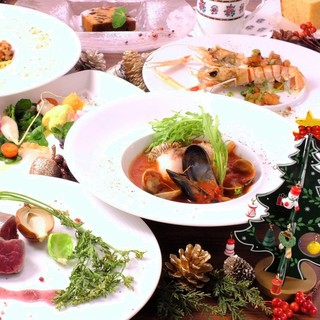 【X'masコース】12月23~25日限定クリスマスコース☆