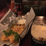 HUB - guiness, fish and chips