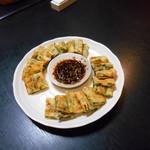 漢陽 - チーズ&ニラチヂミ(*^▽^*)