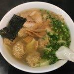 こうや麺房 - 「ワンタンメン」880円