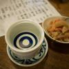 ばんや - 料理写真:日本酒とお通し