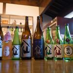 八戸酒造株式会社 - ドリンク写真:試飲した日本酒