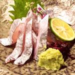 うえ山 - 太刀魚の刺身