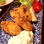 うえ山 - 牡蠣フライ