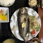 四季亭 - トビウオの定食