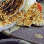 五郎丸 - 料理写真:焼きとんかつ定食930円