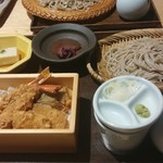 77225233 - 天箱御膳(天丼とお蕎麦の豪華セット☆) 2600円