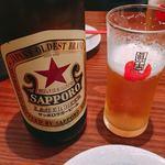 Uomamireshinkichi - ビールは瓶で