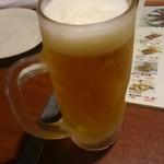 焼き鳥居酒屋 かわよし - 生ビール(一番搾り)