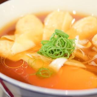麺や 維新 - 料理写真:ワンタン麺@税込900円