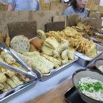 山内うどん店 - 天ぷら類
