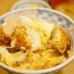 ふく屋 - 玉かつ丼 (¥1,000)