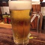 77231994 - 生ビール(アサヒスーパードライ)