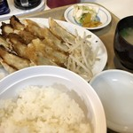 喜慕里 - イカ入り餃子(中)定食