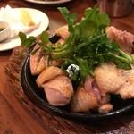 """かしわビストロ バンバン - 地鶏""""近江黒鶏""""かしわ焼き-塩-"""