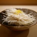 鮨 あらい - 裂き松茸