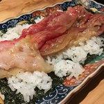 たれ焼肉ご当地冷麺匠 - 大判炙り肉巻き寿司