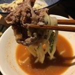 たれ焼肉ご当地冷麺匠 - つけ麺スタイル