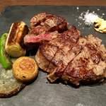 肉屋の肉バル TAJIMAYA - ヘレステーキ