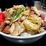 らーめん ぱせり - 焼肉丼