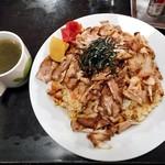 らーめん ぱせり - 料理写真:ちゃーしゅー炒飯
