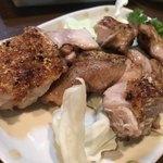 一鳥 - 料理写真:ももステーキ(中)