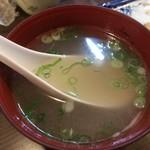 一鳥 - とりスープ