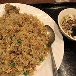 餃子館 - 炒飯(スープ付き)