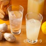 味農家 - 生姜や柚子などバリエーション豊富な『自家製サワー』