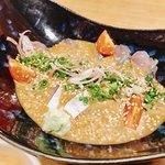 けやき通り 海晴れ - 胡麻サバは小さな海苔を別皿で出してくれて乗せて食べるって良いね!