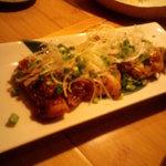 楽庵 - 鶏の柚子胡椒焼き