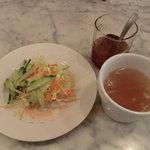 VEGA - サラダとスープ