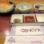 tonkatsuke-waike- - サラダなど