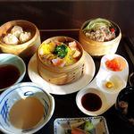 きくすい - 料理写真:せいろ蒸し御膳 1600円(税込み1728円)