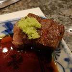 仙台牛焼肉 バリバリ - 醤油とワサビで