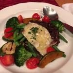 77241727 - グリル野菜とトミーノチーズ