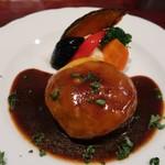洋食 ヤブ カラ ボウ - ハンバーグ定食