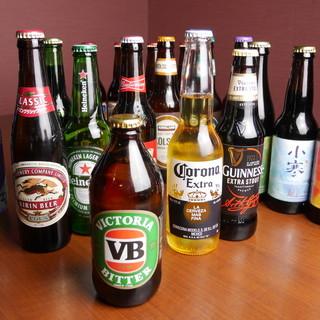 12月~クラフトビール開始♪世界各国のお酒充実のラインナップ