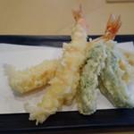 酒彩蕎麦 初代 - 天ぷら