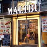 カフェアンドダイニング MALIBU - 入り口は川添い