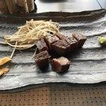 鉄板焼 燈 AkaRi - 特選牛サーロインステーキ