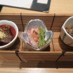 近畿大学水産研究所 - 前菜3種
