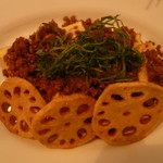 凛空 - 厚揚げの肉味噌チーズ焼き