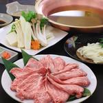 歌行燈 - 料理写真:和牛しゃぶしゃぶ