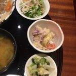 魚菜家旬の花 - 小鉢が充実