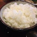 魚菜家旬の花 - 白米