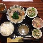 魚菜家旬の花 - 総菜の膳、980円