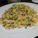 盤古殿 - 【主食】特製腸詰入り炒飯