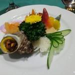 盤古殿 - 【前菜】五種前菜の錦綉盛合わせ