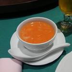 盤古殿 - 【スープ】蟹みそ鱶鰭入りスープ